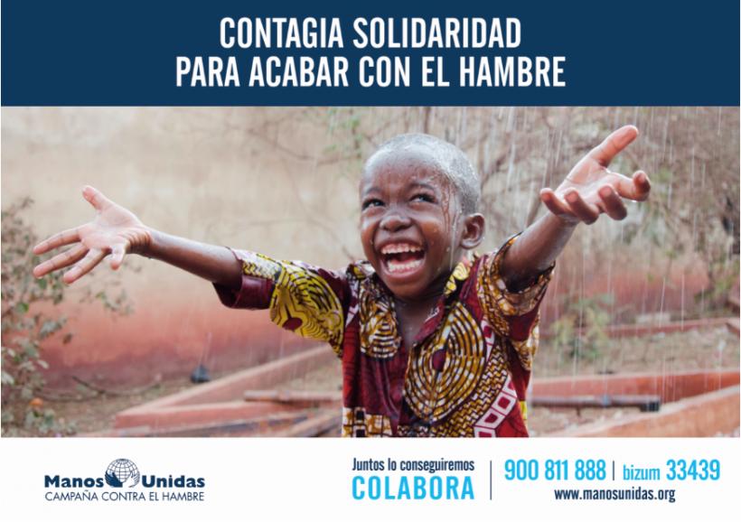 Contagia solidaridad para acabar con el hambre